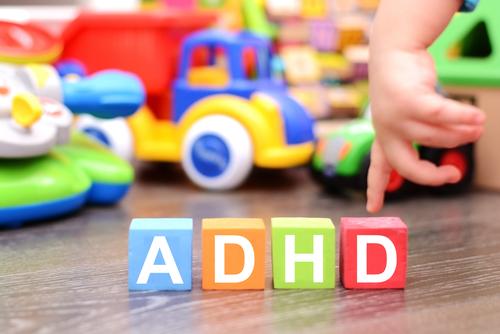 ADHD in blocks for children