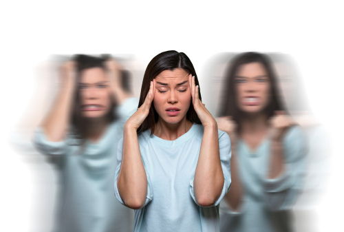 woman with high functioning anxiety
